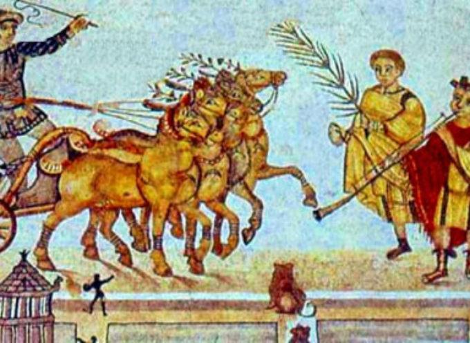 Nell'Antica Roma, dal 4 al 19 settembre: Ludi Romani o Ludi Magni, in onore di Giove