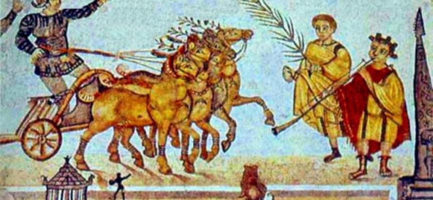 Nell'Antica Roma, anche oggi 11 e fino al 19 settembre: Ludi Romani o Ludi Magni, in onore di Giove