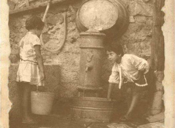 """La fontana era il centro della """"vita"""" quando non c'erano i rubinetti in casa,"""
