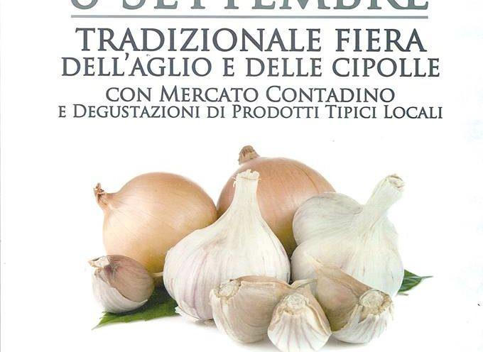 Tradizionale Fiera a Borgo a Mozzano..  dell'aglio e delle cipolle