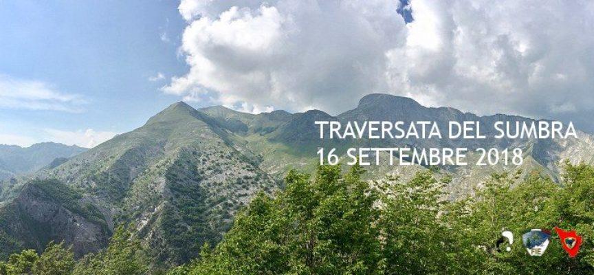 spettacolare traversata del monte sumbra, domenica 16 settembre