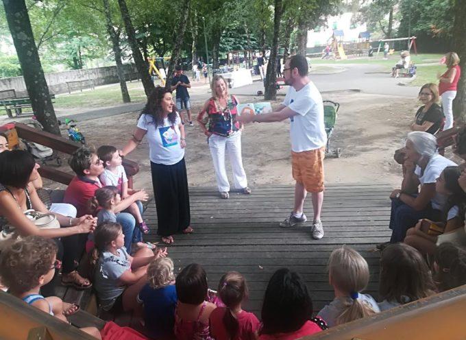 Grande successo per l'edizione 2018 della lettura ad alta voce al Parco Dronero!
