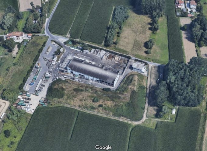 Assemblea per i lavori all'impianto di Sistema Ambiente a Nave