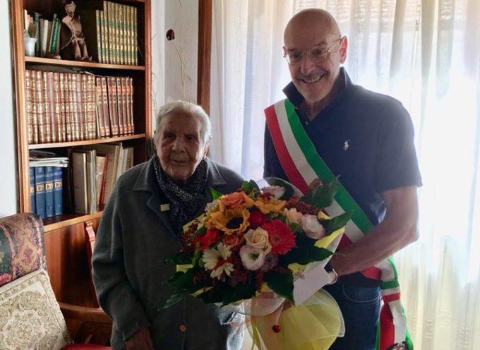 Bagni di Lucca festeggia la sua ultracentenaria.