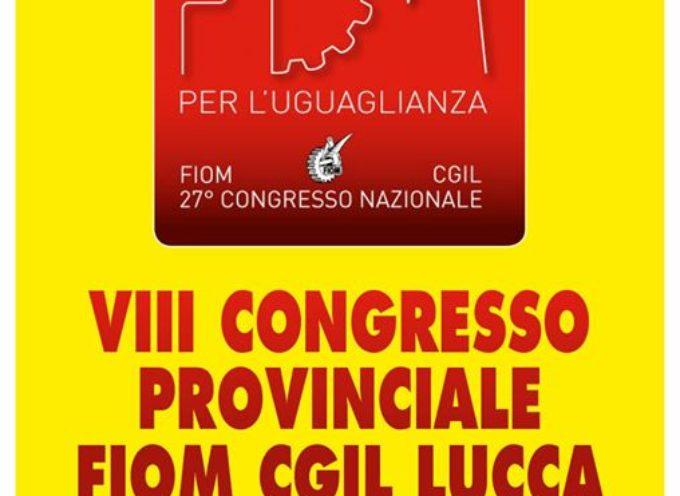 La Fiom Cgil di Lucca il 28 settembre indice l'ottavo congresso provinciale,