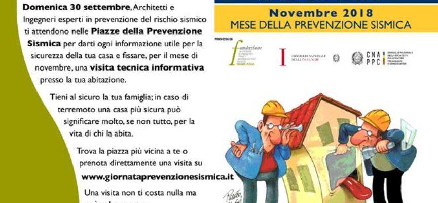 1^ Giornata Nazionale della Prevenzione Sismica