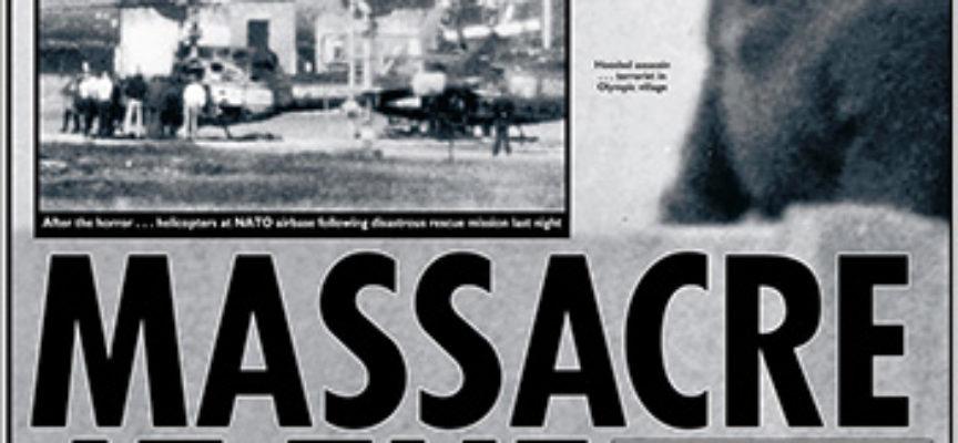 Accadde Oggi, 5 Settembre: 1972, la strage ai Giochi Olimpici di Monaco