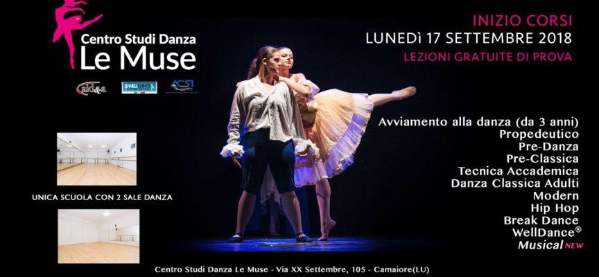 Apre la nuova stagione e il Centro Studi Danza Le Muse si rinnova  Ad Ottobre arriva l'étoile Raffaele Paganini