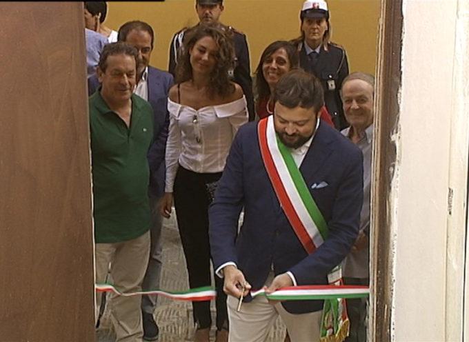 Inaugurati i bagni pubblici a Montecarlo