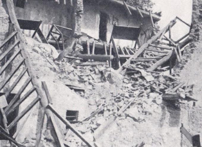 Nei meandri di un terremoto: Garfagnana 7 settembre 1920. Storia di solidarietà, malgoverno e truffe.