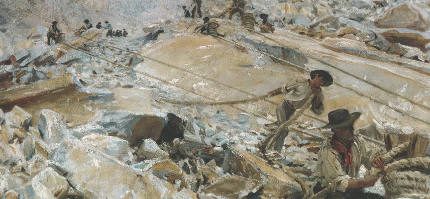 I pittori dell'Ottocento e le cave apuane: lo stupore di artisti e viaggiatori dinanzi ai paesaggi di marmo. Conferenza dell'arch. Andrea Tenerini
