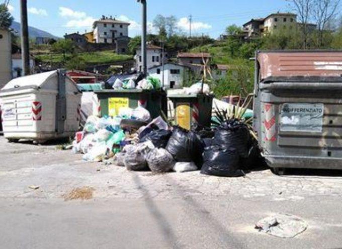 Problema dei rifiuti a Coreglia Antelminelli; migliora la situazione
