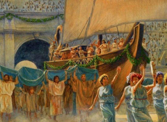 Nell'Antica Roma, anche oggi 10 e fino al 19 settembre: Ludi Romani o Ludi Magni, in onore di Giove