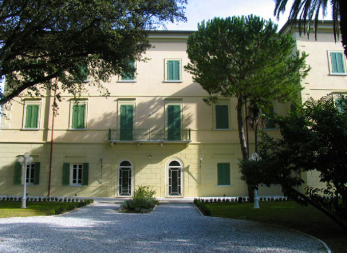 Nuovo look per Villa Bertelli: