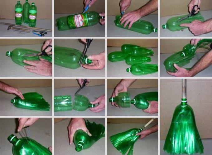 pratiche idee per riciclare le bottiglie di plastica