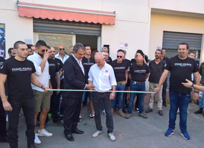 Inaugurata la sede lucchese di Forza Nuova in via Orzali