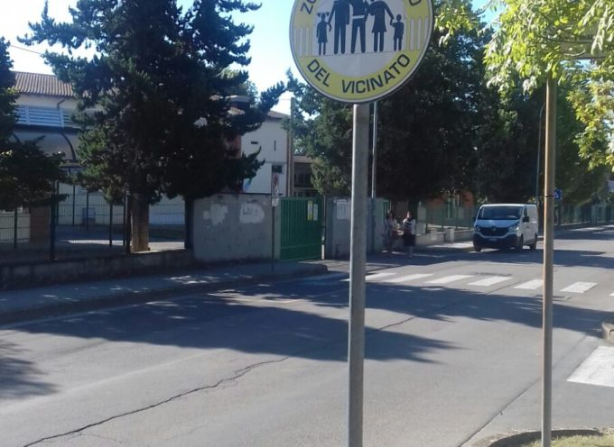 parte il controllo di vicinato a Porcari, Installata la cartellonistica, dalla zona 167
