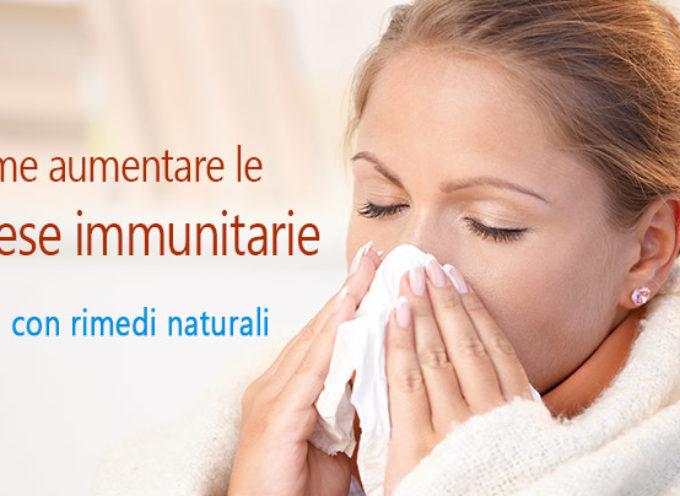 Aumeta le tue difese immunitarie!