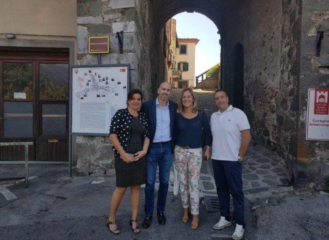 Sopralluogo della Regione Toscana a Coreglia Antelminelli