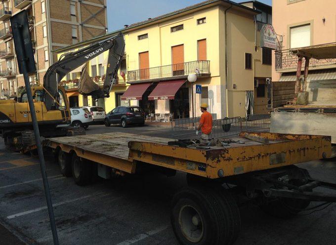 per la nuova fognatura nel centro di Capannori: dal 10 al 29 settembre senso unico