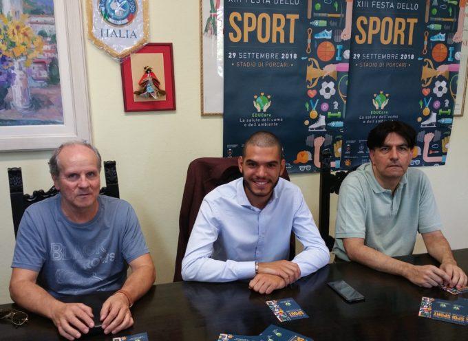 Torna la Festa dello Sport, allo stadio di Porcari