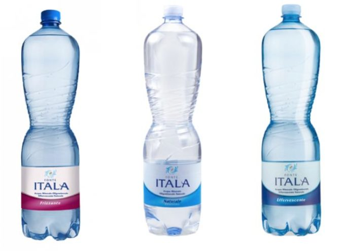 Acqua in bottiglia Fonte Itala contaminata da tricloroetilene: tutti i lotti ritirati