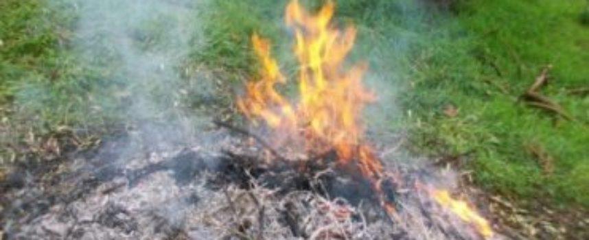 """Sicurezza: forte odore di bruciato nell'aria in più frazioni, segnalati dai cittadini e multati dal Comune gli autori fuochi """"illegali"""""""