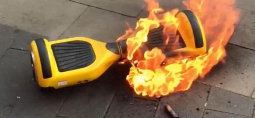 Hoverboard, nuovo ritiro in Francia da Carrefour: attenzione, vanno a fuoco!