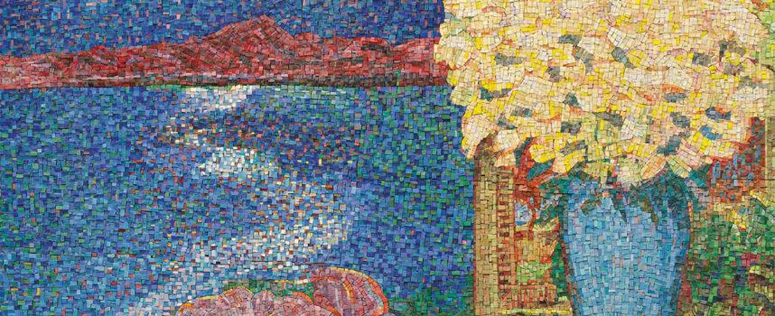 Arte: Janet Stayton nella Sala delle Grasce, l'americana fedele alla pittura che dipinge la Toscana