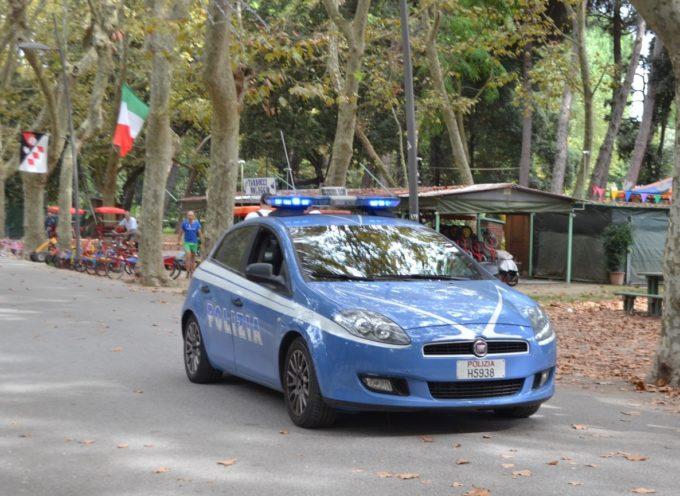 """Inseguimento e arresto di un malvivente in località """"Le Bocchette"""" a Capezzano, portato a termine dalla PS"""