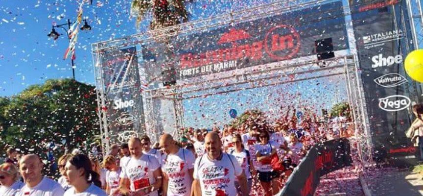 Un risultato assolutamente di successo per la prima edizione di Running In a Forte dei Marmi
