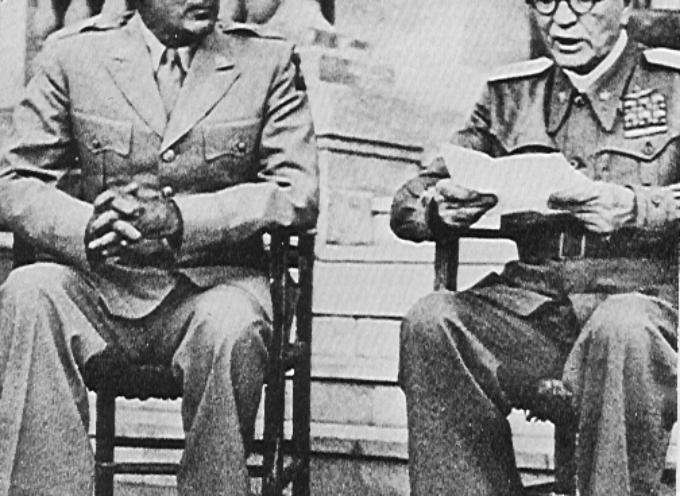 Accadde Oggi, 13 ottobre: la tragedia-farsa dell'Italia sabauda continua: il Re che aveva firmato l'accordo con Hitler