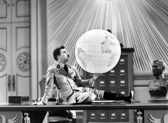 Accadde Oggi, 15 Ottobre: 1940, esce il Grande Dittatore, del grande Chaplin