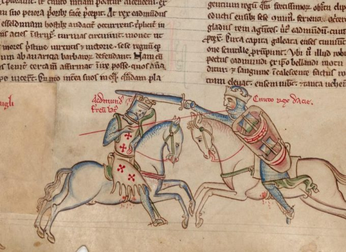 Accadde Oggi, 18 Ottobre: 1016, nell'Essex scontro per il trono d'Inghilterra, con la vittoria dei Danesi