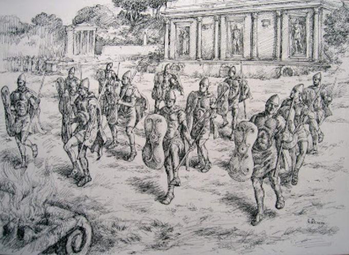 Nell'Antica Roma, 19 ottobre: Armilustrium, fine delle campagne militari e purificazione delle armi