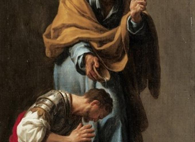 Il Santo del giorno, 20 Ottobre: S. Cornelio, il centurione, primo romano ad essere battezzato