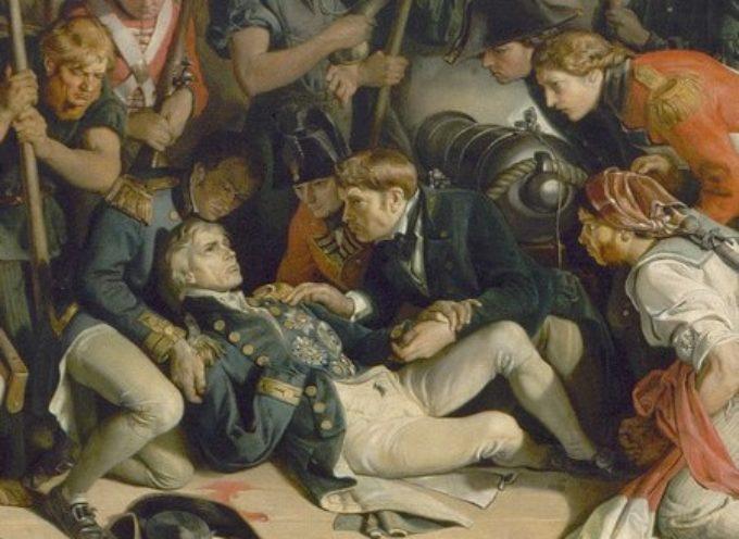 Accadde Oggi, 21 Ottobre: 1805: la Battaglia di Trafalgar, l'eroismo di Horatio Nelson
