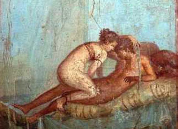 Nell'Antica Roma, 23 Ottobre: Festa sfrenata di Libero e Libera, con enormi libagioni di vino nuovo e la processione di decine di migliaia di prostitute!