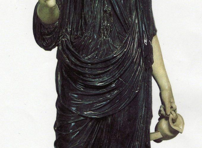 Nell'Antica Roma, dal 28 Ottobre al 3 Novembre: giorni di Isia, grandi feste in onore di Iside