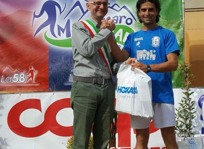 Federico Matteoni festeggia la prima vittoria in bianco-azzurro