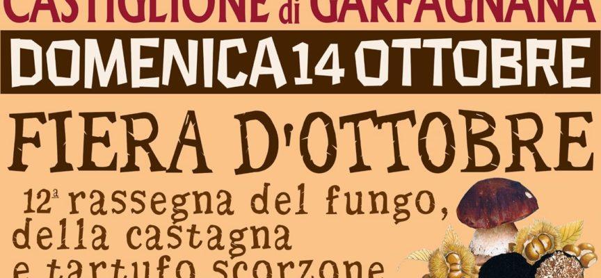 CASTIGLIONE DI GARFAGNANA – FIERA D'OTTOBRE, 12° Rassegna Fungo, Castagna e Tartufo Scorzone.