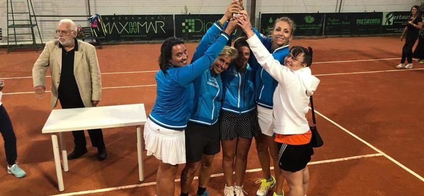 Il Circolo Tennis Italia 1939 di Viareggio si laurea campione regionale Fit femminile.