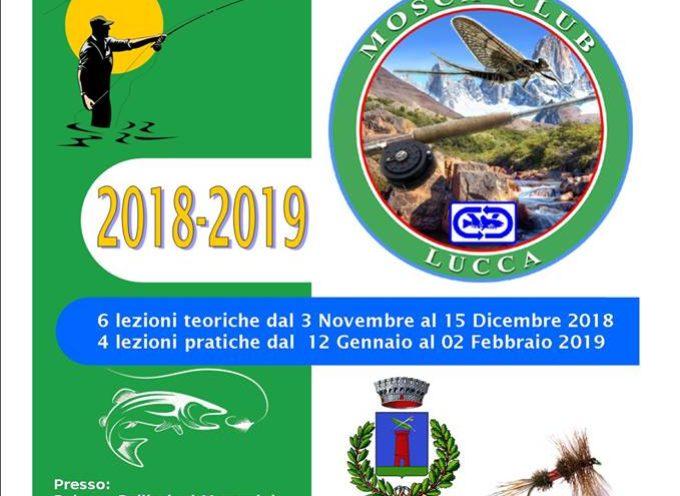 il Mosca Club Lucca organizza il corso di pesca a mosca con una grande novità!!!.