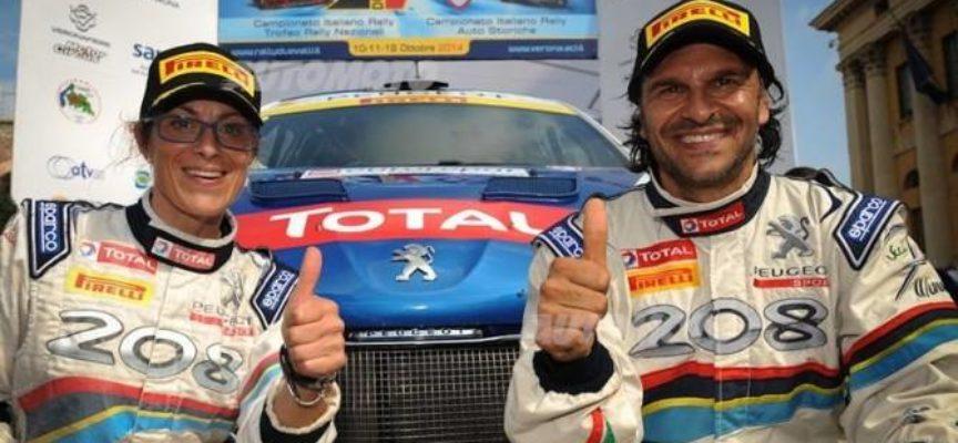 Anreducci fa la storia, è campione italiano rally per l'11esima volta