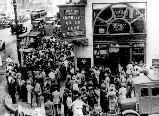 """ACCADDE OGGI – 29 ottobre 1929. A Wall Street è il """"martedi nero"""":"""