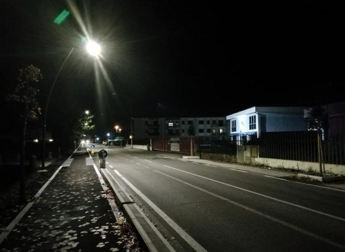 Sulla via Romana sembra giorno anche di notte!