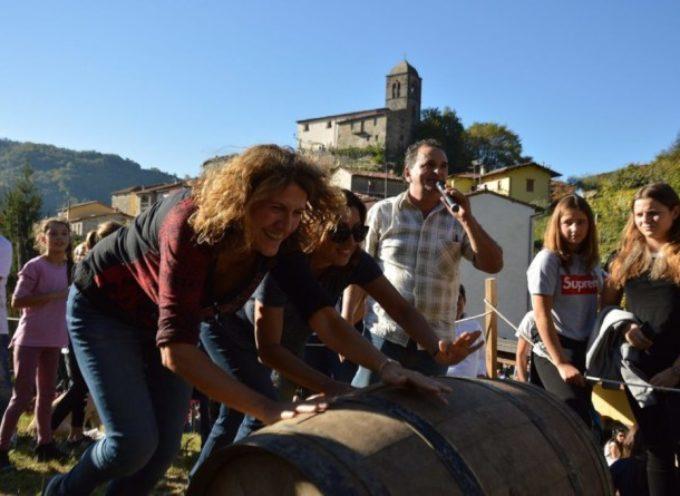 Un' autentica invasione a Riana per la Festa del Vino