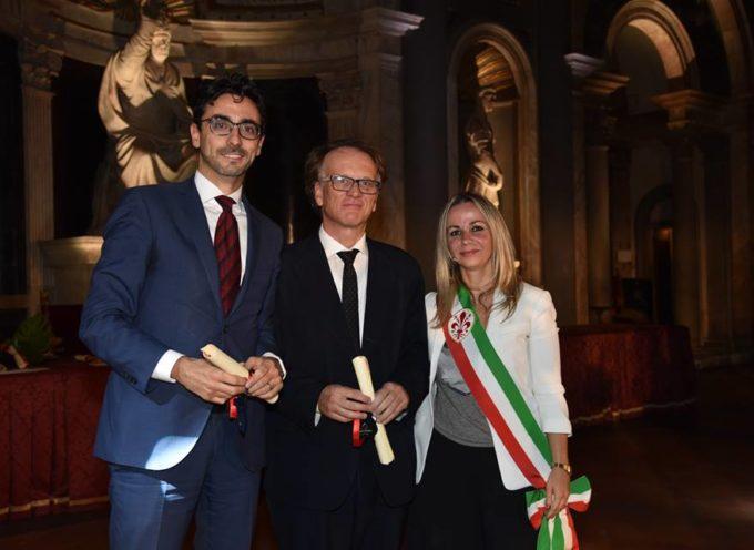 FIORINO D'ARGENTO AL DIRETTORE PIETRINI E AL PROFESSOR RICCIARDI DELLA SCUOLA IMT ALTI STUDI LUCCA