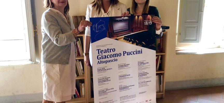 FONDAZIONE TOSCANA SPETTACOLOCOMUNE DI ALTOPASCIO TEATRO PUCCINI