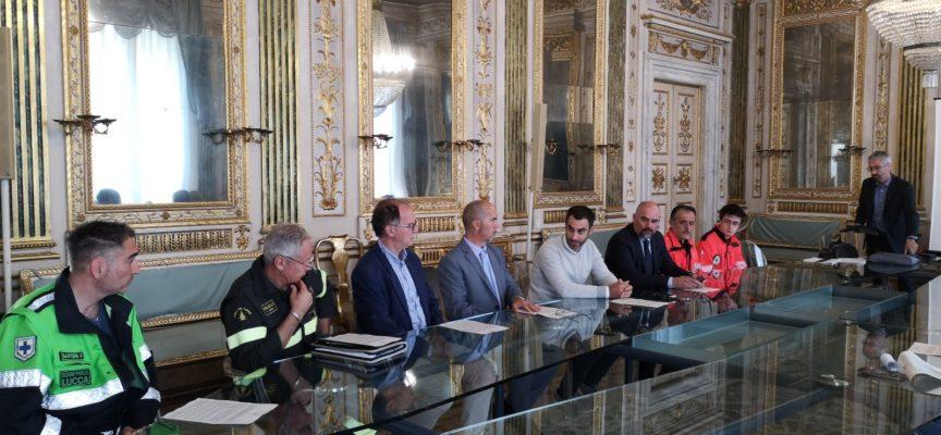 """Presentata l'esercitazione della Protezione Civile """"Lucca 2018"""""""